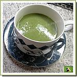 recette Soupe, au céleri branche, pomme de terre, ail, agrémentée de cancoillotte