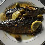 recette Maquereau grillé au romarin