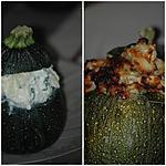 recette Courgettes farcies façon végétarienne