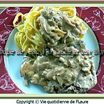 recette Escalope de veau à la sauce et aux oignons