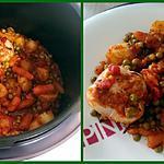 recette Paupiettes de dinde au petits légumes (cookeo)