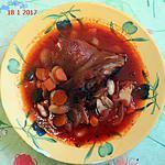 recette Jarret de porc et haricots tarbais
