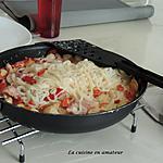 recette Tagliatelles de riz aux noix de St Jacques à la crème