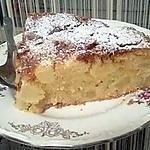 recette Gâteau aux pommes sans lait sans beurre