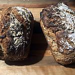recette Pain croustillant au blé entier (facile et rapide)