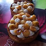 recette Tartelettes pommes et crème vanillée