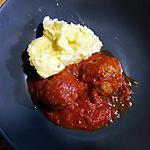 recette boulette à l'italienne