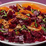 recette Salade de betteraves, oranges et noix