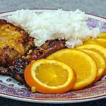 recette Travers de porc mariné aux agrumes