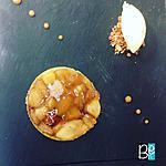 recette La tatin aux pommes revisitée, dressage minute