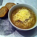 recette Soupe à l'oignon maison
