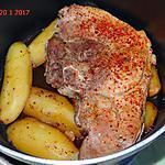 recette Rouelle de porc à la vapeur