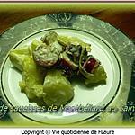 recette Gratin de saucisses de Montbéliard au Saint-Agur