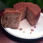 recette Pudding de pain raisins-coco-caramel (sans oeufs)
