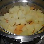 recette Purée de pommes de terre et courge butternut