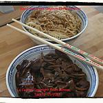 recette Bœuf Sauté Aux Oignons et poivre noir