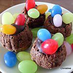 recette Petits Nids en Chocolat