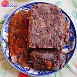 recette Terrine de restes de queue de boeuf