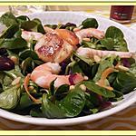 recette Salade de mâche de la mer