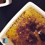 recette La crème brûlée à l'amande amère