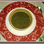 recette Potage champignons de Paris, poireau et graines de fenouil