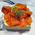 recette Cheesecake avocat et saumon fumé (sans cuisson)