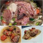recette Blanquette de veau cuite à l'autocuiseur