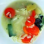 recette bouillon riz legumes