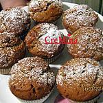 recette Muffins a la ricotta   et cacao