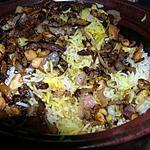 recette Pulao de poulet à l'indienne