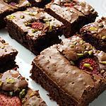 recette Brownies fraise/pistache