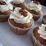 recette Muffins moelleux aux noix