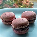 recette Macarons à la framboise