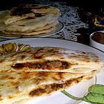 recette Naans à la viande hachée-  Keema naans