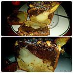 recette Pain d'épices aux poires