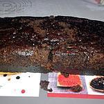 recette Gâteau poires chocolat au micro ondes