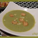 recette Soupe de Brocolis à la Fourme Persillée