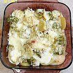 recette Gratin de romanesco, pommes de terre et chorizo