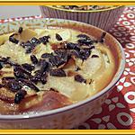 recette Clafoutis aux pommes poires et chocolat