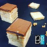 recette Une mignardise banane choco caramel