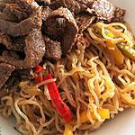 recette Pad thai boeuf & konjac