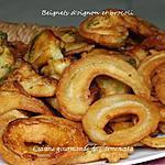 recette Beignets d'oignons et de brocoli