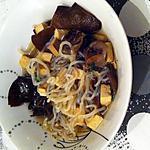 recette Soupe chinoise aux champignons noirs, konjac et tofu fumé