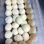 recette Truffes au chocolat blanc/noix de coco