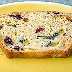 recette Gâteau du matin aux kiwis et cranberries