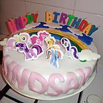 recette Gâteau anniversaire My little pony