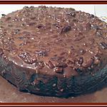recette Obsession chocolat, caramel et noix de Martine