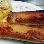 recette pain perdu  montagnard au reblochon