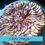 recette fine tarte feuilletée aux pommes