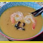 recette Velouté de carottes à la crème de coco et cumin